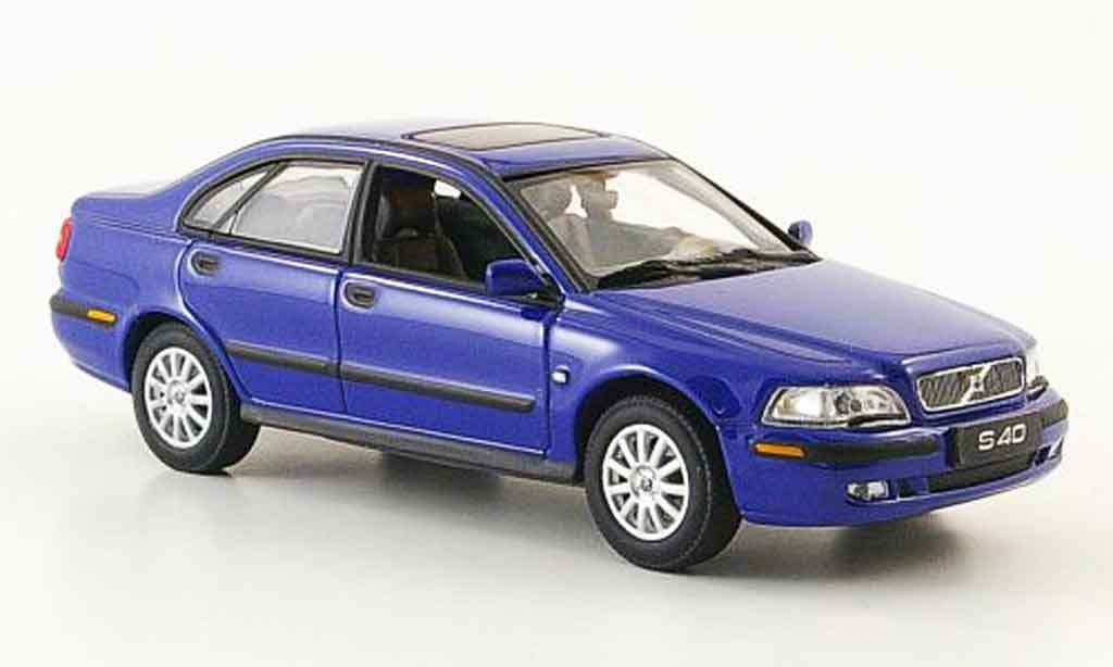 Volvo S40 1/43 Minichamps bleu 2000