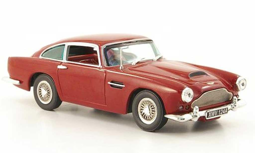 aston martin db4 miniature rouge 1959 vitesse 1 43 voiture. Black Bedroom Furniture Sets. Home Design Ideas