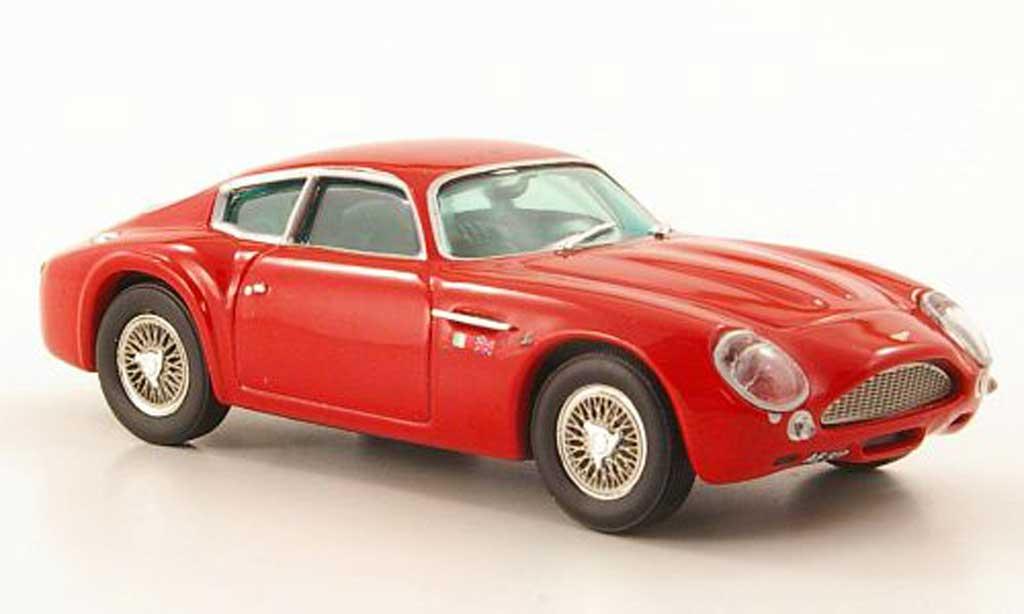 Aston Martin DB4 1/43 Vitesse GT Zagato rouge miniature
