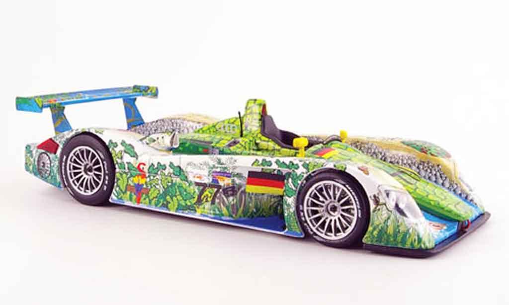 Audi R8 Le Mans 1/18 Maisto le mans krokodil miniature