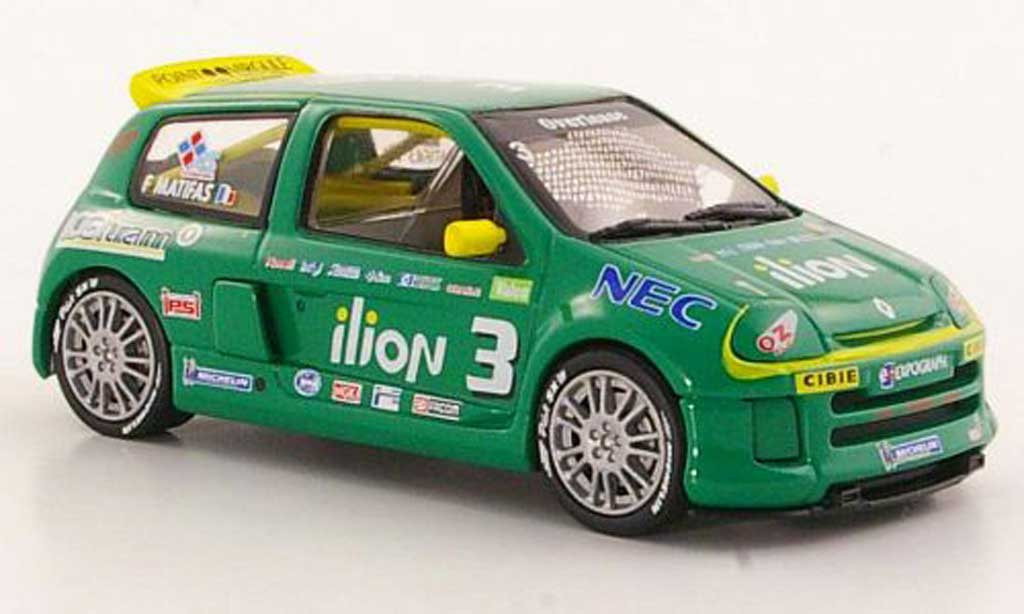 Renault Clio V6 1/43 Eagle II No.3 Ilion F.Matifas Trophy miniature