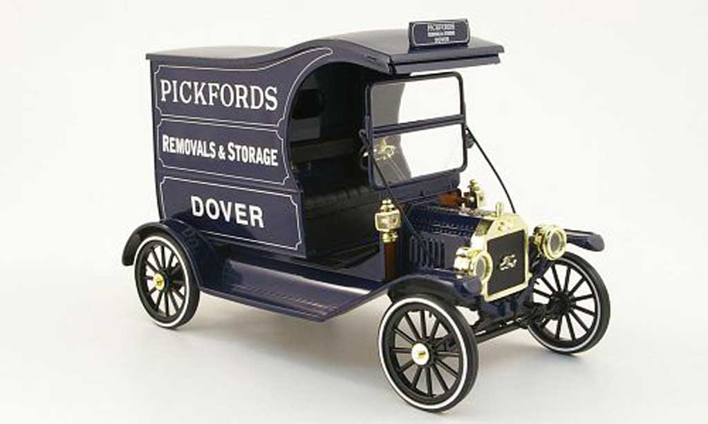 Miniature Ford Model T delivery van pickfords Eagle. Ford Model T delivery van pickfords miniature 1/18