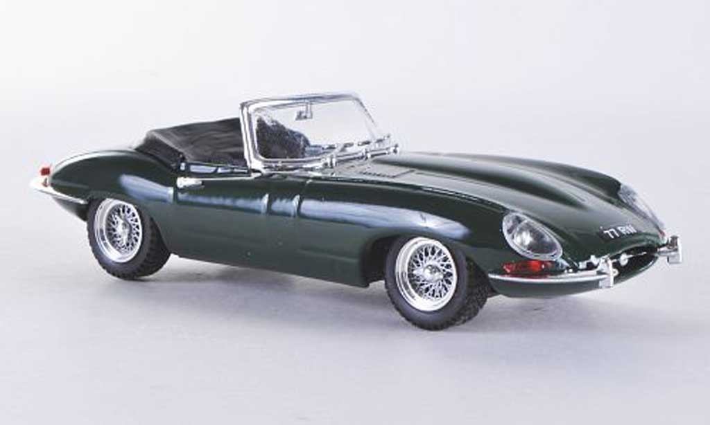 Jaguar E-Type 1/43 Best E Spyder grun miniature