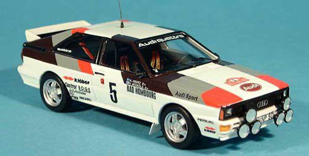 Audi Quattro 1/43 Trofeu Coupe Monte Carlo H.Mikkola/A.Hertz 1981 miniature