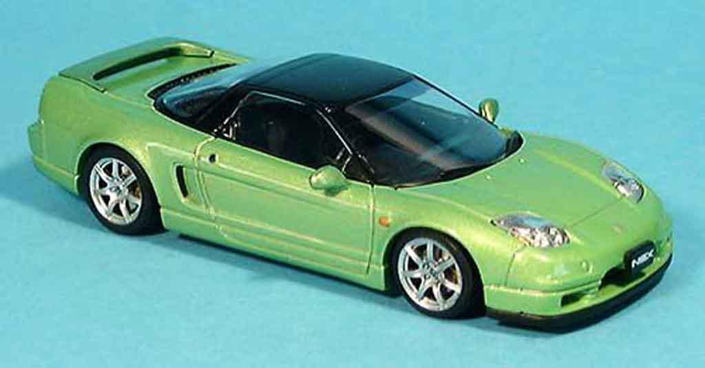 Honda NSX Type S 1/43 Ebbro grun 2001 miniature