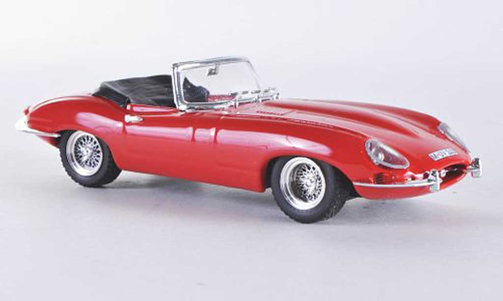 Jaguar E-Type 1/43 Best Roadster rouge miniature