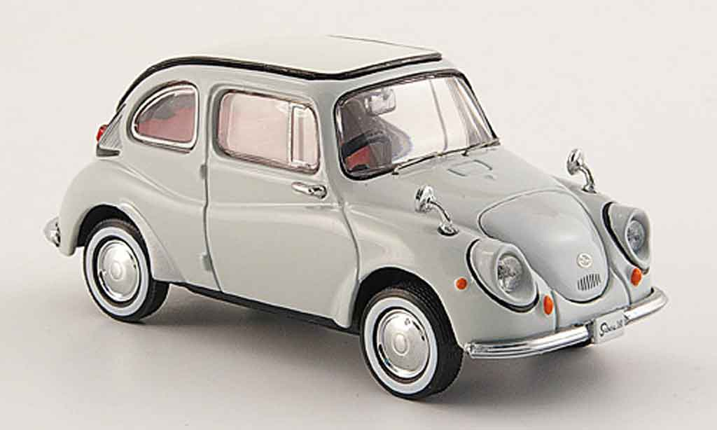 Subaru 360 1/43 Ebbro grise 1963 miniature
