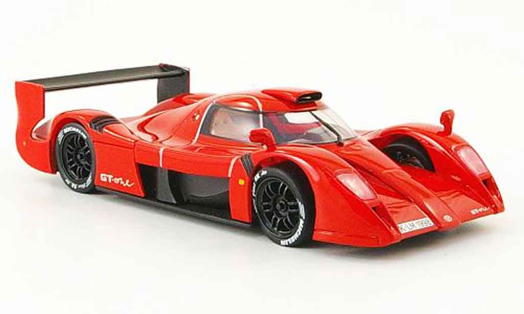 Toyota GT One 1/43 Onyx rouge 1998 miniature