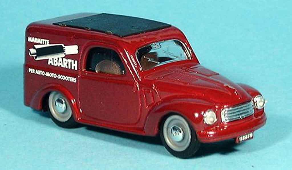 fiat 500 c topolino rot abarth lieferwagen 1956 brumm. Black Bedroom Furniture Sets. Home Design Ideas