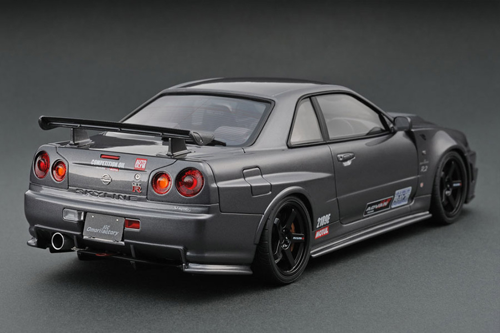 Nissan Skyline R34 1/18 Ignition Model Nismo Omori Factory C IG0012