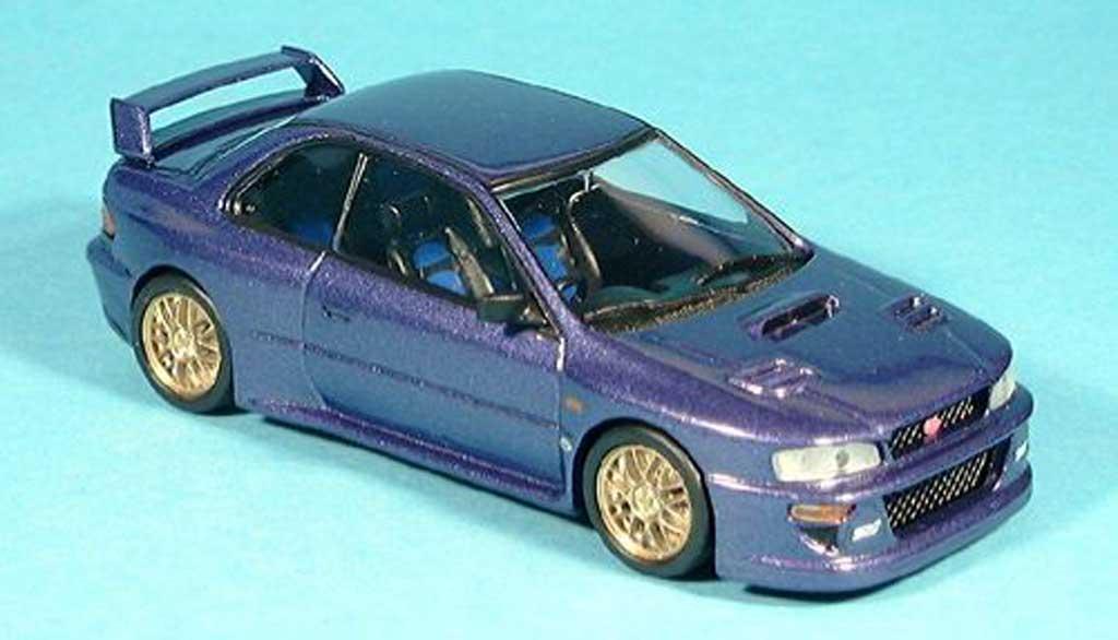 Subaru Impreza WRC 1/43 Trofeu blau modellautos