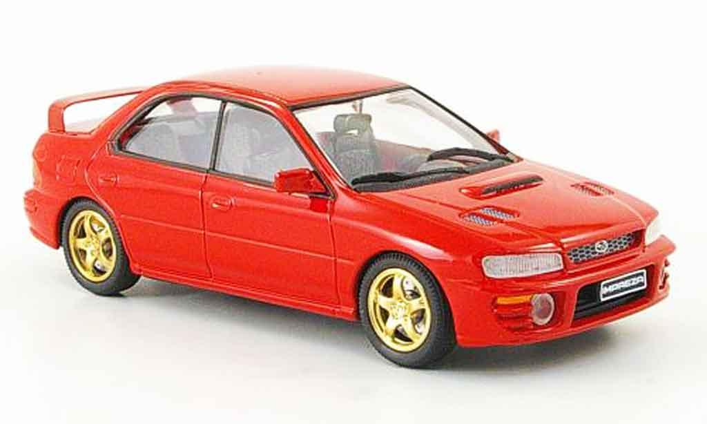Subaru Impreza 1/43 Trofeu rouge miniature