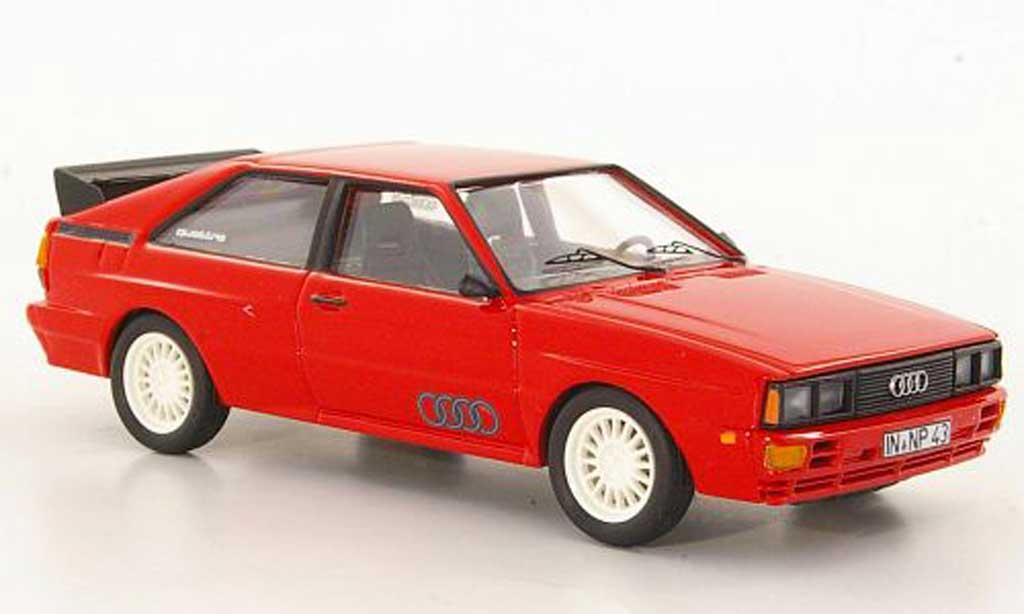 Audi Quattro 1/43 Trofeu rouge LHD miniature