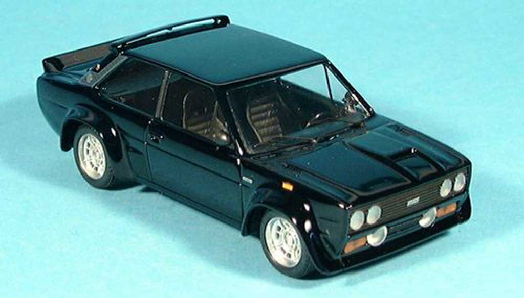 Fiat 131 Abarth 1/43 Trofeu black diecast model cars