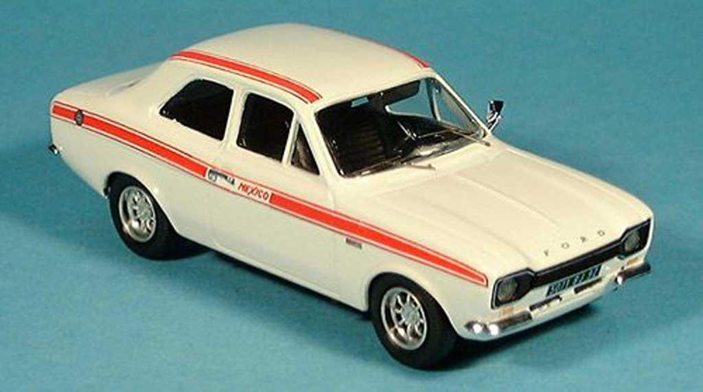 Ford Escort MK1 1/43 Trofeu Mexico blanche 1971 miniature
