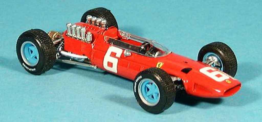 Ferrari 158 1965 1/43 Brumm no.6 l.bandini gp italien miniature