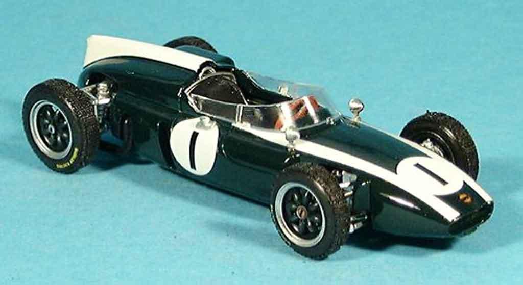 Cooper T53 1/43 Brumm No.1 J.Brabham Sieger GP Grossbritannien 1960 miniature