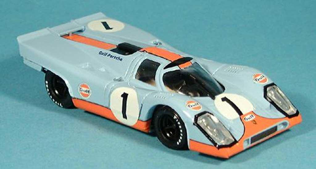 Porsche 917 1970 1/43 Brumm No.1 Siffert/Bell Gulf-6h Daytona miniature
