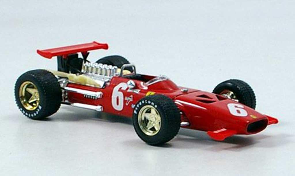 Ferrari 312 F1 1/43 Brumm No.6 C.Amon GP Frankreich 1969 miniature