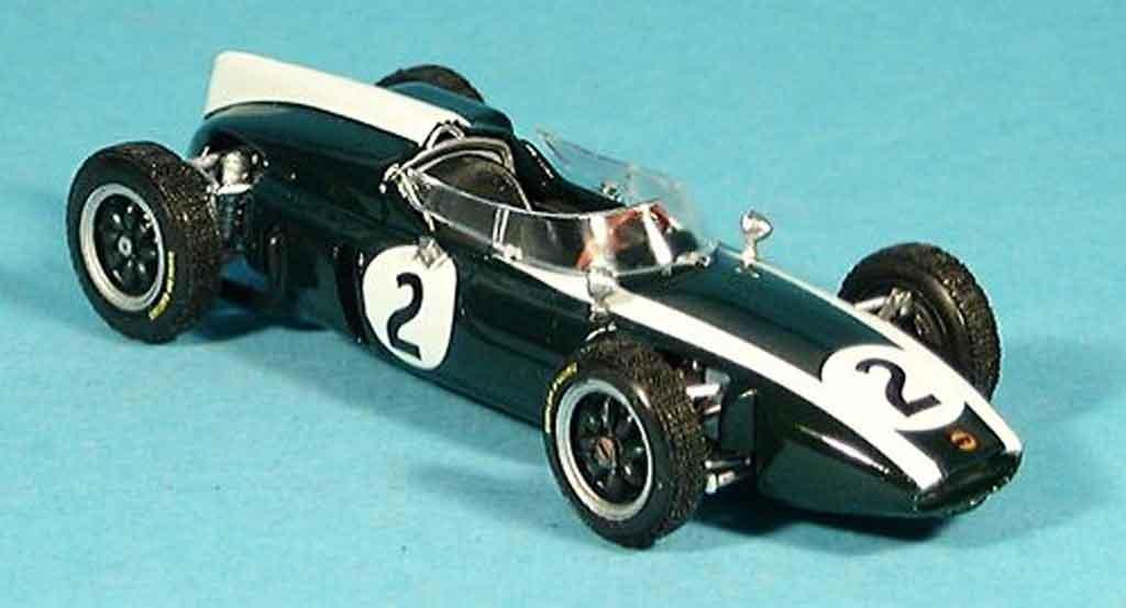 Cooper T53 1/43 Brumm No.2 B.McLaren Zweiter GP Grossbritannien 1960 miniature