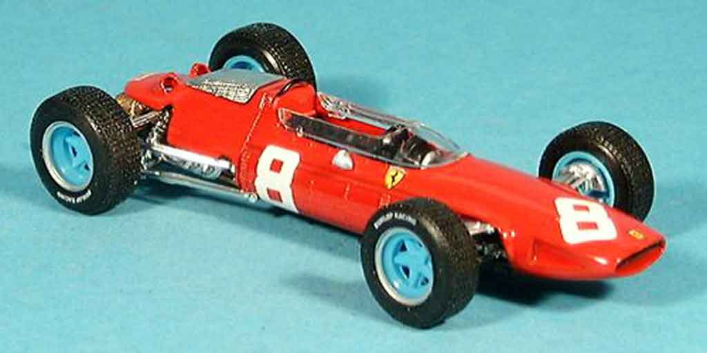 Ferrari 156 1964 1/43 Brumm no.8 l.bandini sieger gp osterreich modellautos