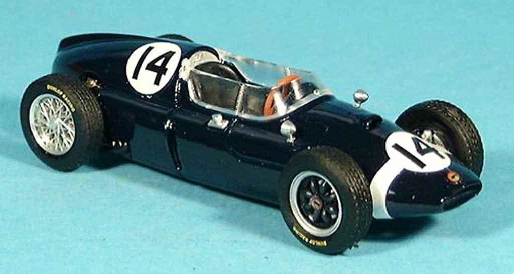 Cooper T51 1/43 Brumm No.14 S.Moss Sieger GP Italien 1959 miniature