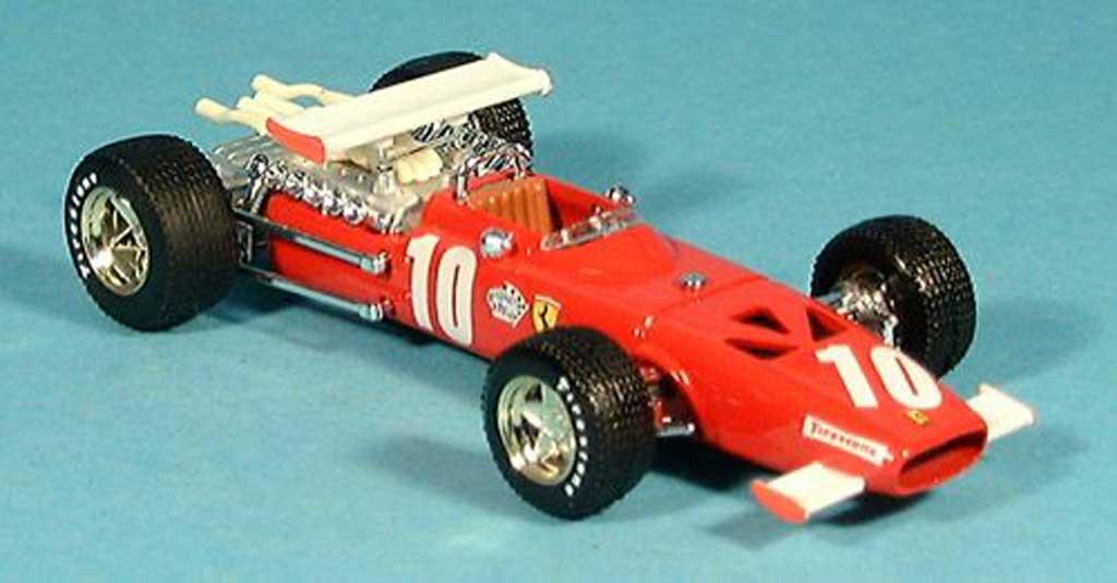 Ferrari 312 F1 1/43 Brumm No.10 Pedro Rodriguez GP Italien 1969 miniature