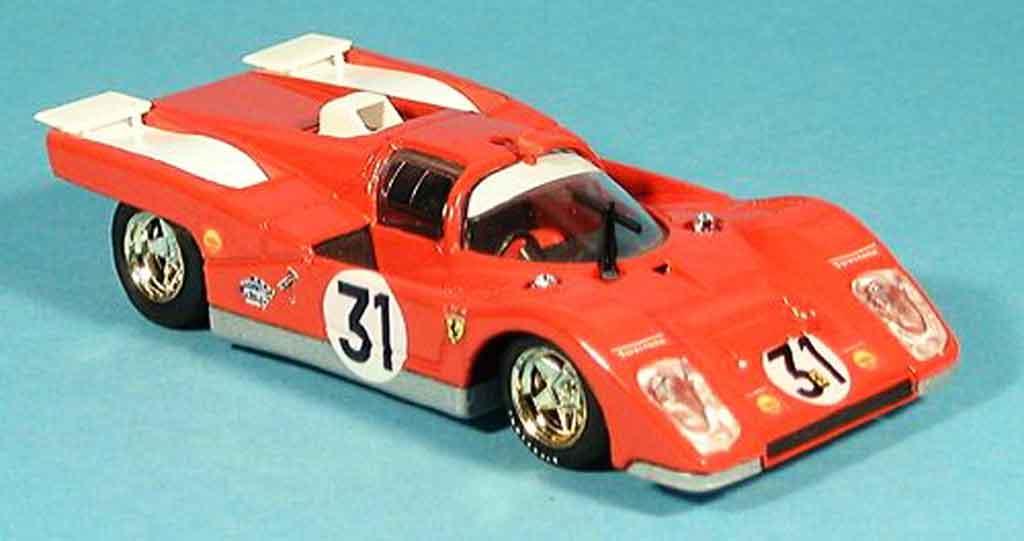 Ferrari 512 M 1/43 Brumm 1000 km osterreich ickx giunti miniature