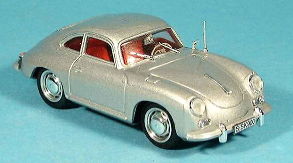 Porsche 356 1963 1/43 Brumm C Coupe grise metallisee