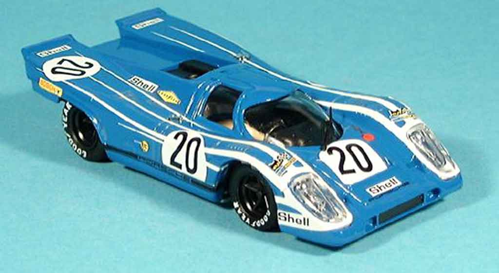 Porsche 917 1970 No.20 Ahrens Marko 1000 Km osterreich Brumm. Porsche 917 1970 No.20 Ahrens Marko 1000 Km osterreich modellini 1/43