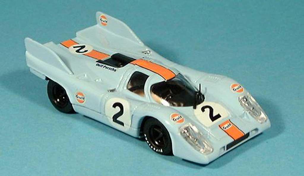 Porsche 917 1971 1/43 Brumm No.2 Scuderia JWA-Gulf 1000 km Monza  Rodriges/Oliver miniature
