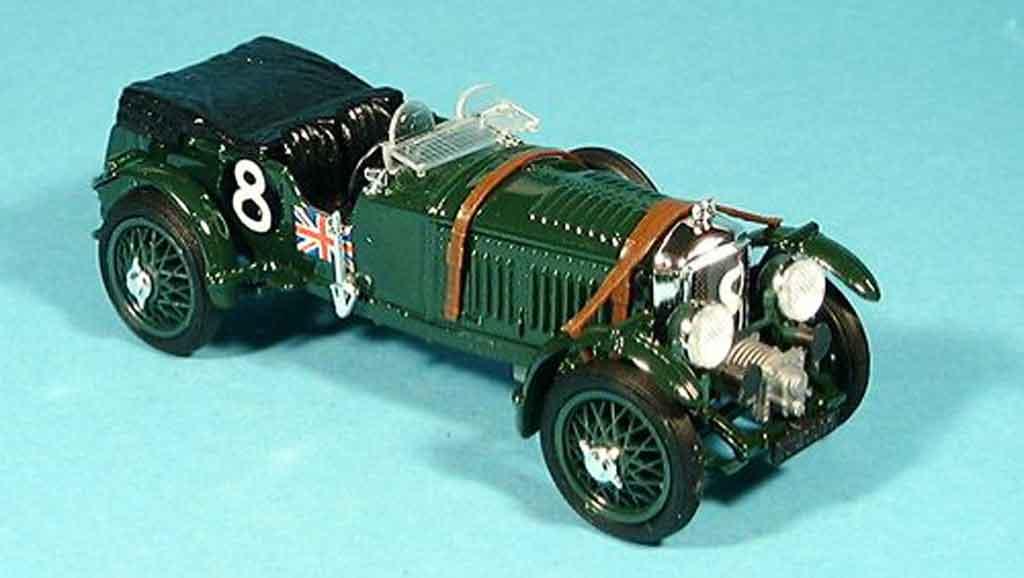 Bentley Speed 6 1/43 Brumm Le Mans D.John Benjafield 1932 miniature