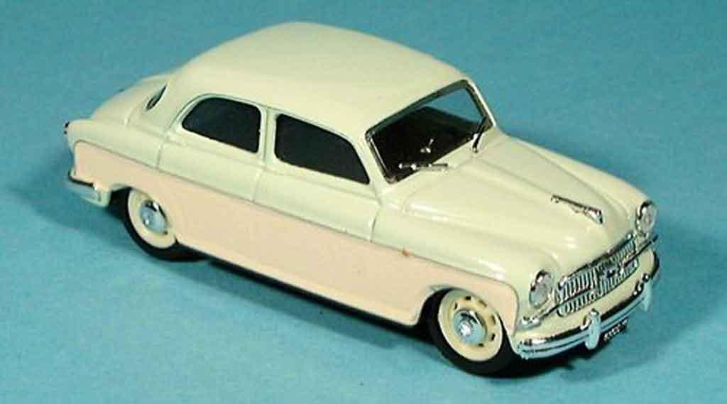 Fiat 1400 1/43 Brumm B creme grun 1956 miniature