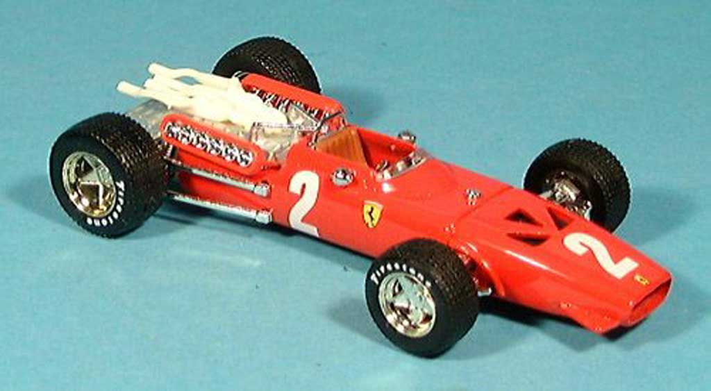 Ferrari 312 F1 1/43 Brumm No.2 Chris Amon GP Italien 1967 miniature