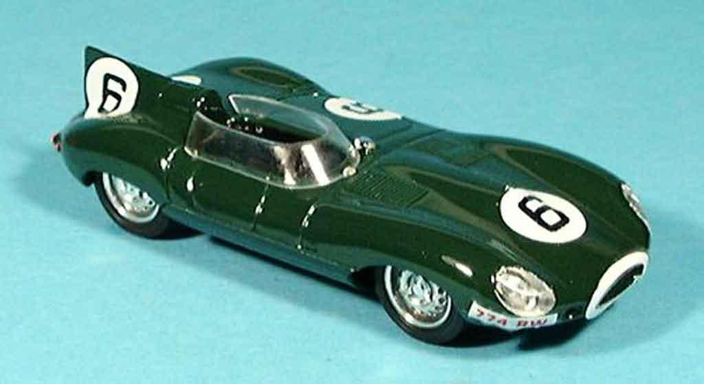 Jaguar D-Type 1955 1/43 Brumm le mans mike hawthorn miniature