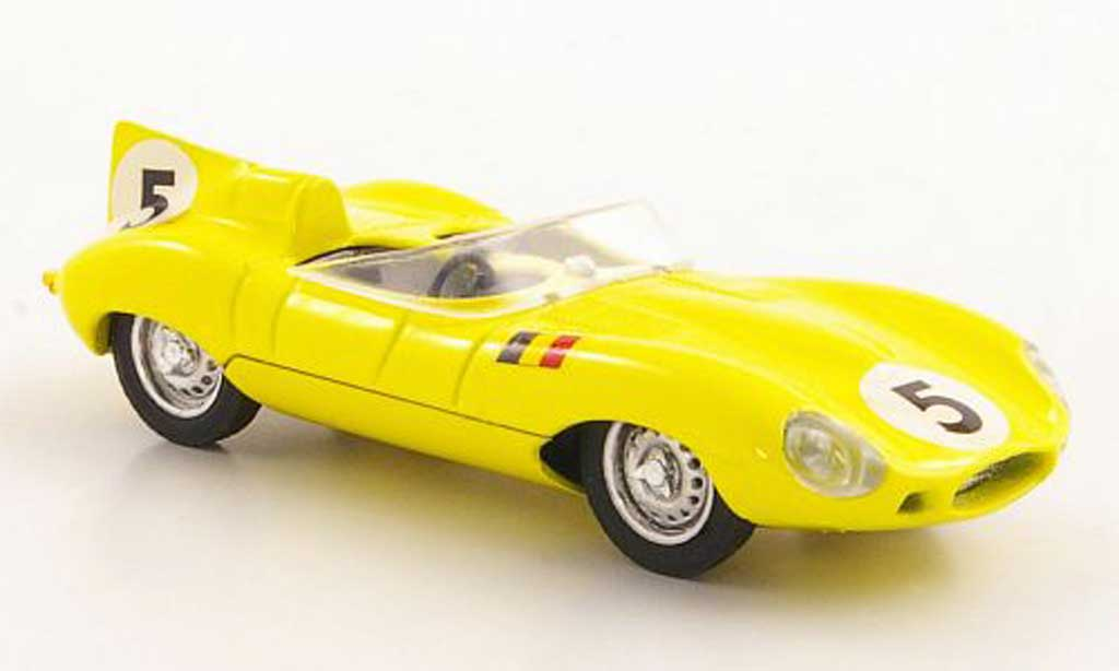 Jaguar D-Type 1956 1/43 Brumm 1956 No.5 24h Le Mans miniature