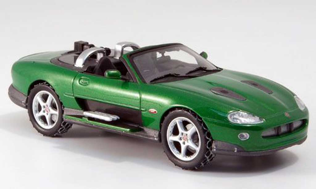 Jaguar XKR Roadster 1/43 Minichamps Zao 2002 miniature