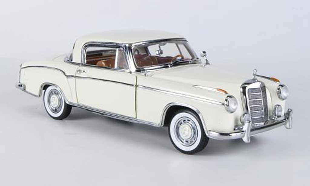 Mercedes 220 1/18 Sun Star SE Coupe beige 1958 miniature