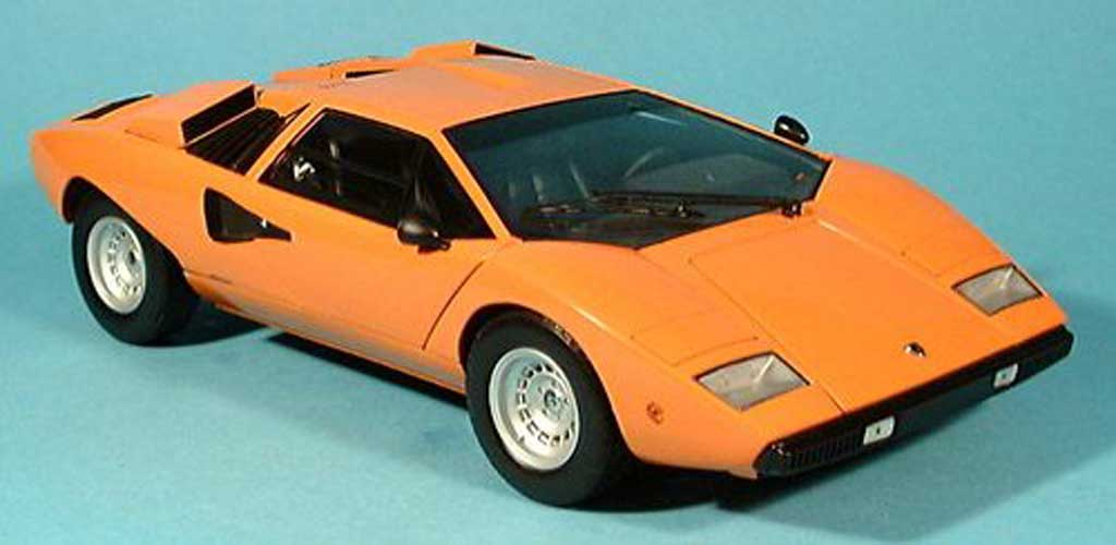 lamborghini countach lp 400 orange kyosho diecast model car 1 18 buy sell d. Black Bedroom Furniture Sets. Home Design Ideas