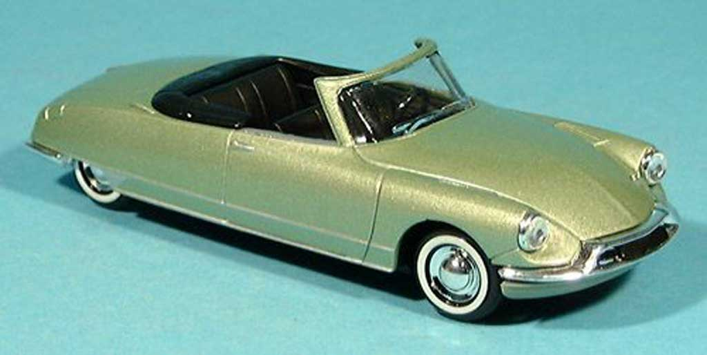 Citroen DS Cabriolet 1/43 Solido cabriolet vert 1961 miniature