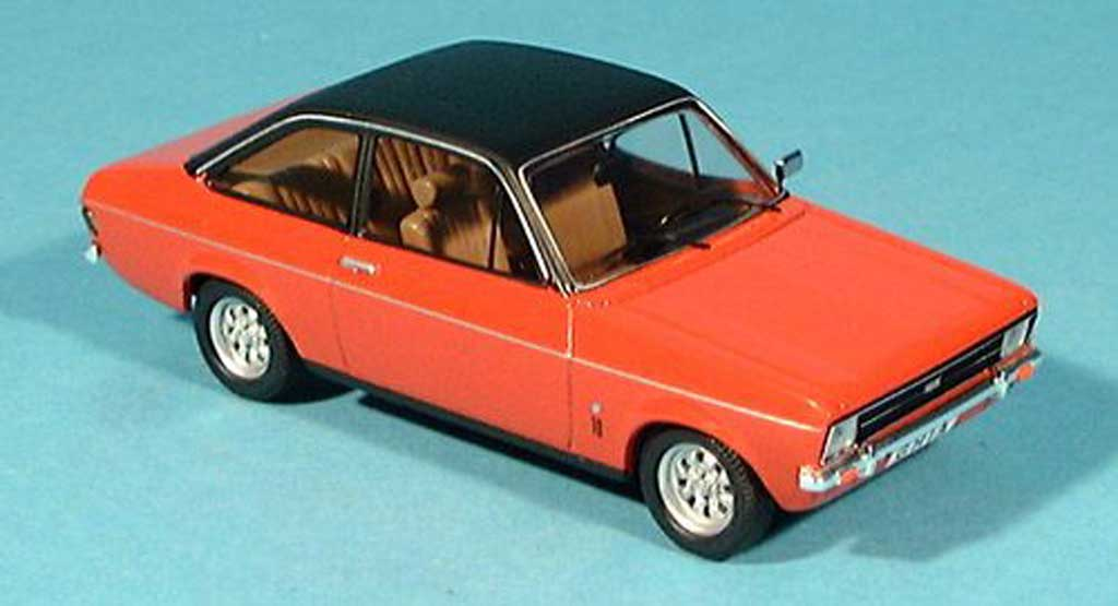 Ford Escort MK2 1/43 Trofeu 1300 Ghia red Dach black diecast model cars