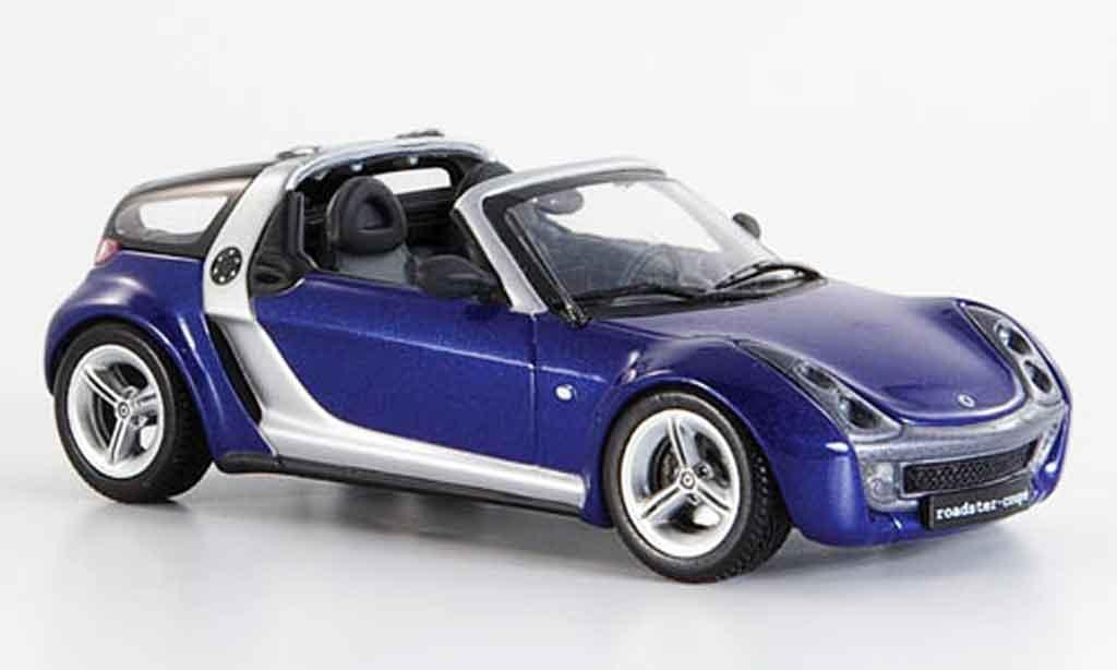 smart roadster coupe blau 2003 minichamps modellauto 1 43 kaufen verkauf modellauto online. Black Bedroom Furniture Sets. Home Design Ideas