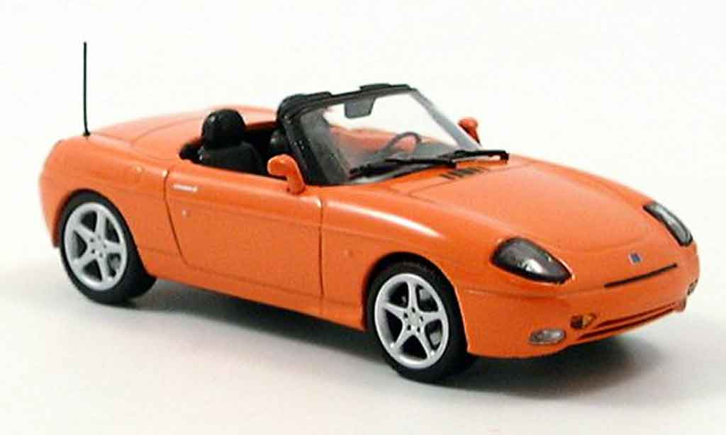fiat barchetta orange minichamps modellauto 1 43 kaufen. Black Bedroom Furniture Sets. Home Design Ideas