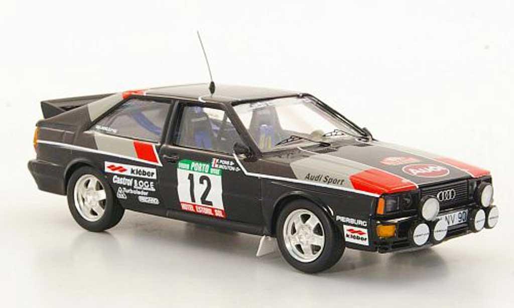 Audi Quattro 1/43 Trofeu No.12 M.Mouton / F.Pons Rally Portugal 1981 miniature