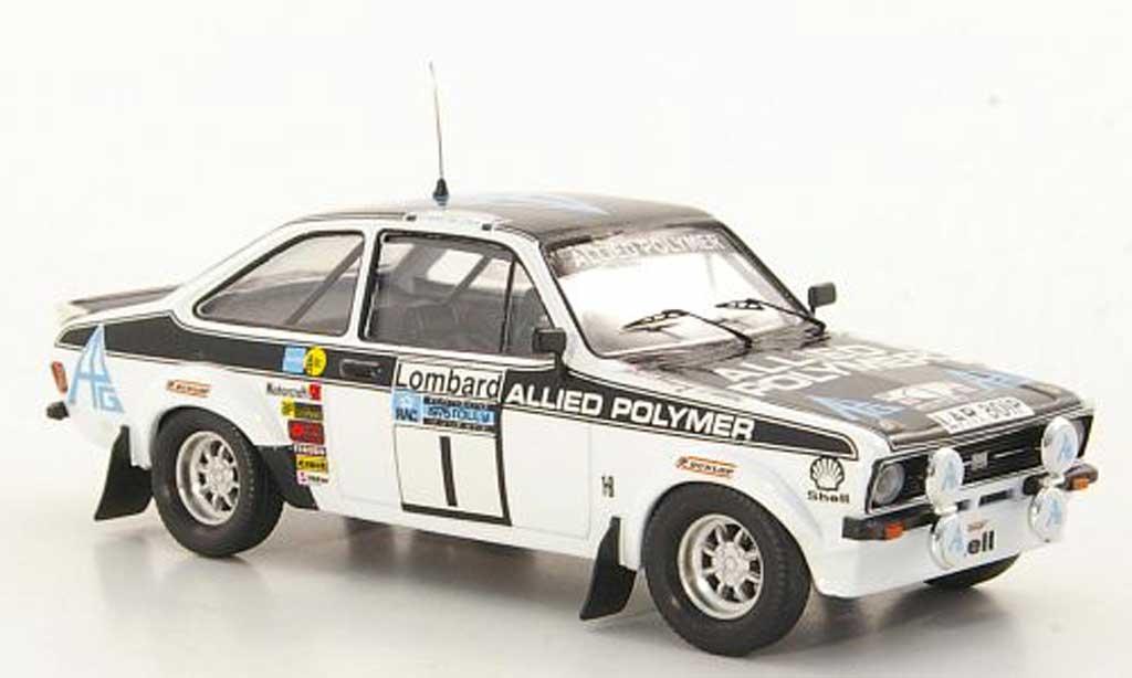 Ford Escort RS 1800 1/43 Trofeu RS 1800 Allied Polymer T.Makinen / H.Liddon RAC Rally 1975 diecast model cars