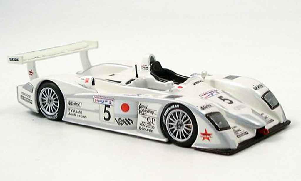Audi R8 2002 1/43 IXO Team Goh Le Mans Dalmas Ara Katoh diecast