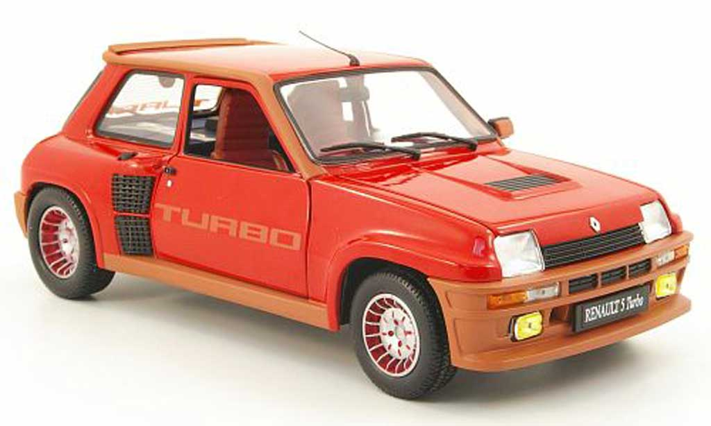 renault 5 turbo miniature rouge universal hobbies 1 18 voiture. Black Bedroom Furniture Sets. Home Design Ideas
