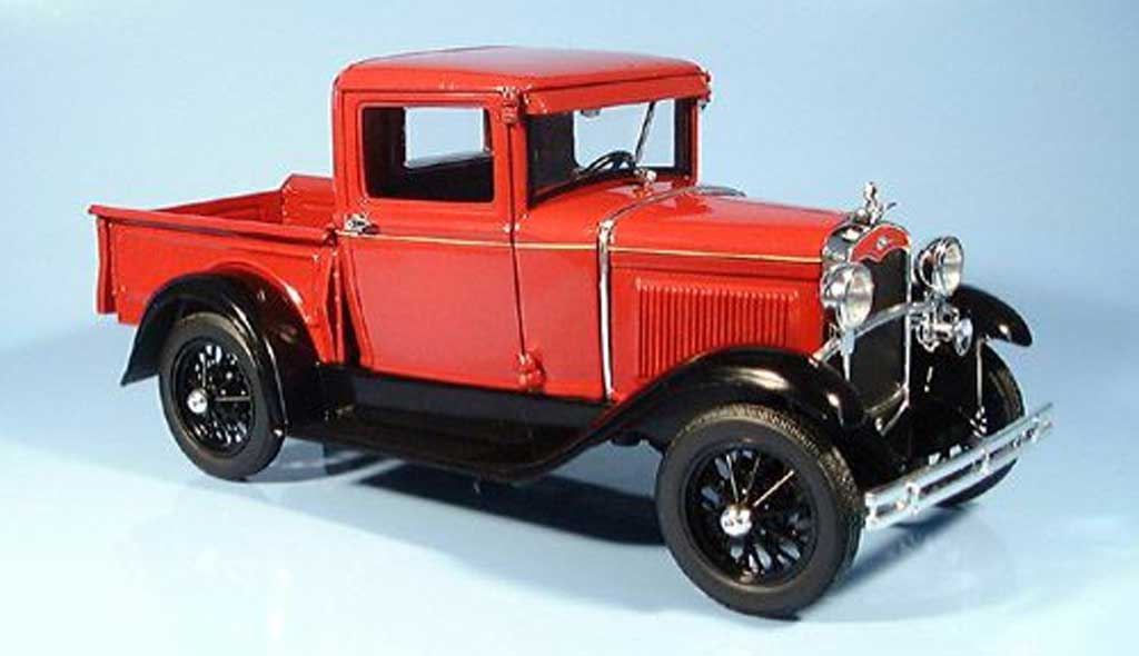 Ford Model A 1/18 Signature Pick Up red 1931 diecast model cars