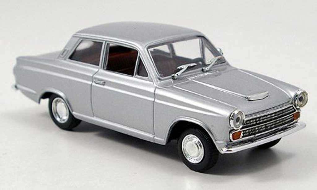 Ford Cortina 1/43 Solido MK I grey 1963 diecast model cars