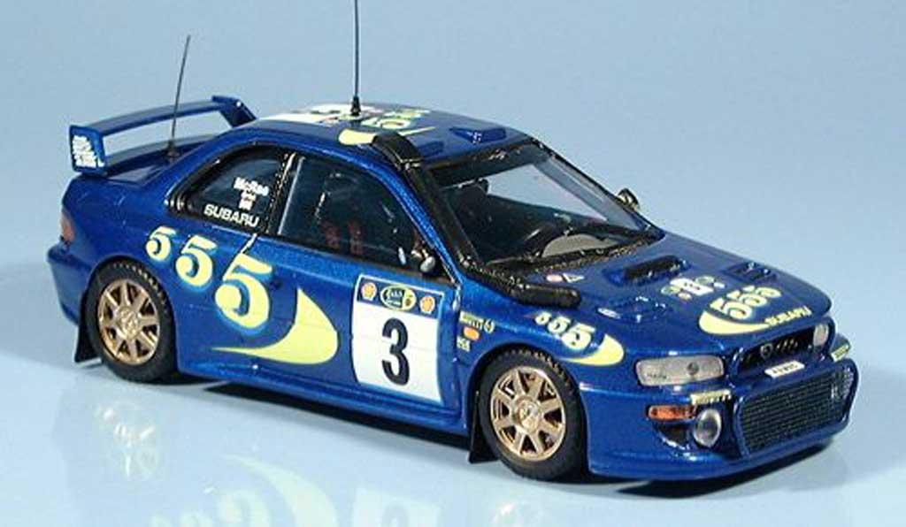 Subaru Impreza WRC 1/43 Trofeu Sieger Safari Rallye McRae-Grist 1997 miniature